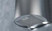 Fabita 25929 Cappa Cucina Aspirante Parete Diametro 38 cm LED Inox  Ci Cilindro
