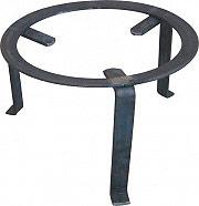 Faricelli Treppiedi in ferro per Camino Ø cm 16