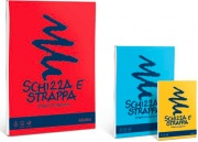 Favini A200705 Confezione 5 Blocchi Schizza E Strappa A6