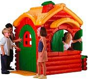 Feber 800002884 Casetta Bambini Casa Gioco Giardino Chalet di Montagna Woodland Cottage