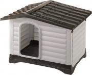 Ferplast 87255099 Cuccia Dogvilla 90 per cani taglia media con tetto apribile