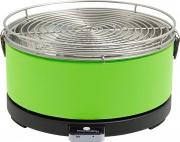 Feuerdesign MAYON VERDE Barbecue Carbonella Portatile BBQ Carbone 33 cm Verde Mayon