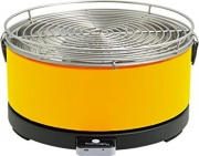Feuerdesign MAYON YELLOW Barbecue Carbonella Portatile BBQ Carbone 33 cm Giallo Mayon