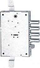 Fiam 608 D Serratura Porta Blindata Scrocco 4 mandate dim 136x206x30 Ent. 60 mm