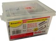 Fischer 531271 SmartFix Box 80 Tasselli assortiti serie SX
