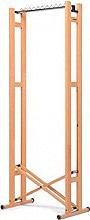 Foppapedretti 415303 Stand appendiabiti pieghevole Ruote legno Naturale  Snake 60