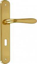 Forme GOCCIA 870 L01 Maniglia porta interna con Placca Moderno Q870 Lega Oro