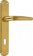 Forme TORINO 890 L01 Maniglia porta interna con Placca Moderno Q890 Lega Oro