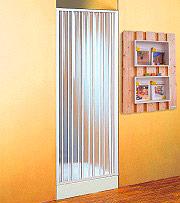 FORTE BK121001 Box doccia 110 x 185h cm Cabina doccia 1 lato Porta a soffietto