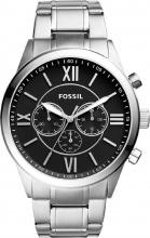 Fossil BQ1125IE C Orologio Uomo Analogico Cronografo Cassa Acciaio Silver