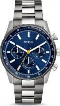 Fossil BQ2458 C Orologio Uomo Analogico Cronografo Cassa Acciaio Silver