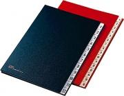 Fraschini 627-NR Classificatore Numerico 1-12 Rosso