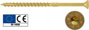 Friulsider 07310d0608000 Viti Portanti per Legno Tsp Torx mm 6x 80 Pezzi 100
