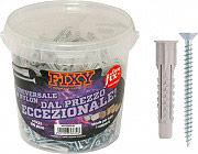 Friulsider 90411B000100 Tasselli in Nylon ø 6 mm TSP L. 33 mm cf 300 Pz  Fixy