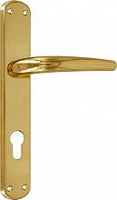 Frosio Bortolo A111L01 Maniglia Porta con Placca 40 x 245 mm finitura Oro Lucido A115L01