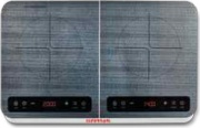 G3 Ferrari G10120 Fornello Induzione elettrico 2 Fuochi 2+1.5 Kw  Pronto Chef Duo