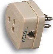GARANTI Filtro ADSL tripolare presa plug 62 - 27385