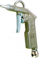 GAV Pistola Soffiaggio Compressore ad Aria Canna corta - 60 A