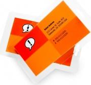 GBC 3740433 Confezione 100 Pouches Formato Tessera