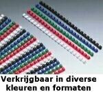 GBC 4028238 Confezione 100 Dorsi Plastici 14mm Blu