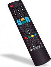 GBS Elettronica 1716 Telecomando TV Samsung Alimentazione a Batterie AAA Nero