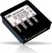 GBS Elettronica AV2U2 DTT -LTE Amplificatore di segnale TV da Palo Esterno