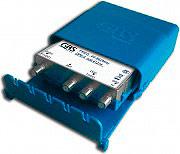 GBS Elettronica DPE3 Derivatore da Palo Splitter per Esterno 3 discese 41214 DPE-3