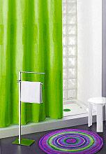 GEDY 112 - 180x200VERDE Tenda doccia vasca 180x200 cm Shower Curtain Impermeabile Moderna Verde 112