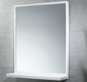 GEDY 2901 Specchio rettangolare cm 45x60 con mensola plastica bianco