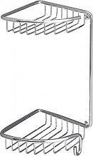 GEDY 5681 Portaoggetti doccia portasapone mensola porta oggetti box doccia