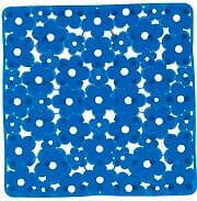 GEDY 97 5151P1 Tappeto bagno antiscivolo Tappeto doccia 51.5 x 51.5 cm PVC Blu