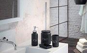 GEDY CN8014 Porta sapone Liquido con Dosatore Dispenser Sapone  Nero  G-Chantal