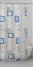 GEDY TVI 1349 1830 Tenda doccia 180x200 cm PEVA Azzurro  Grigio  G-Frame