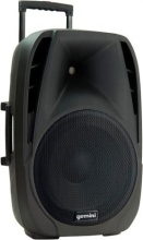 GEMINI ES-15 TO GO Cassa Amplificata Bluetooth Diffusore 2 Vie 200 W Ingresso Mic