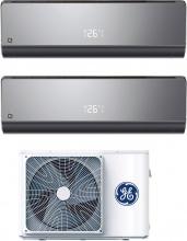 GE APPLIANCES GEM-NM5035-35NJGB-20 Climatizzatore Dual Split Inverter 12+12 Btu Future Black