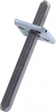 GHIDINI 1323121057090 Quadro+Molla Maniglie mm 8x105