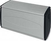 TERRY BOX 120 QBLACK Cassapanca Resina Esterno Giardino Baule 120X54X57H