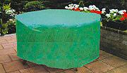 Giardini del Re Copertura Tavolo 125X70H Telo Copertura per Tavolo da Giardino Tondo cm 125X70H