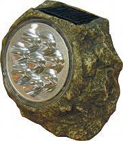 GIARDINI DEL RE Lampada solare LED Esterno Giardino Batteria GRANITO 8 LED