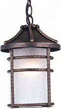 GIARDINI DEL RE Lanterna Esterno Giardino Catena cm28 Ruggine Serie Anversa