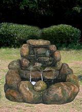 GIARDINI DEL RE Fontana giardino esterno poliresina cm 85x77x58h MZ 11749 GA