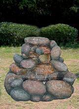 GIARDINI DEL RE Fontana giardino esterno poliresina cm 75x62x56h MZ 11783 GA