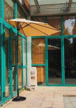 Giardini del Re Ombrellone Parete 270 Ombrellone Giardino Parete Tondo 2,7 m Telo Poliestere