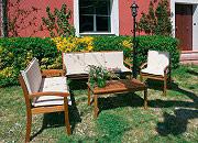 Giardini del Re Panca Serata 3 Posti Panchina Giardino Panca Esterno Legno 158x56x88h 3 Posti Serata