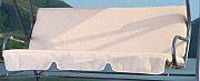 Giardini del Re Set Cuscini per dondolo a 3 posti 139x46x46 cm Romantic