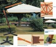 GIARDINI DEL RE Stecca Ricambio Ombrellone Esterno Giardino Maxima cm 2x4x90