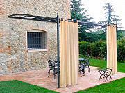 Giardini del Re TENDA CM160X280H ECRU Tenda da sole pergolato brettella 160x280h cm col Ecrù
