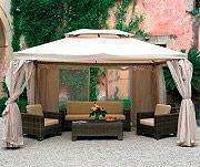 Giardini del Re Copertura Gazebo 4x4 Telo Top per Modello Sahara