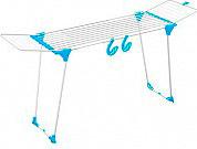 GIMI 01020025AZZURRO Stendibiancheria estensibile fino a 257 cm colore Azzurro Dinamik 30 Color
