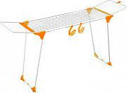 GIMI 10140032OR Stendibiancheria Stendino estensibile pieghevole Arancione Dinamik 30 color